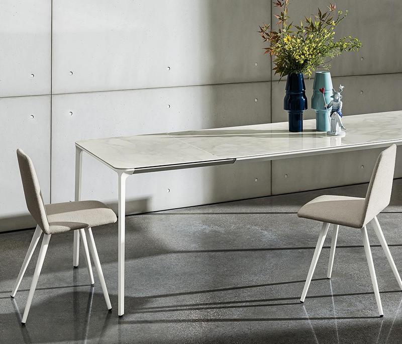Rozkładany marmurowy stół Sovet Italia