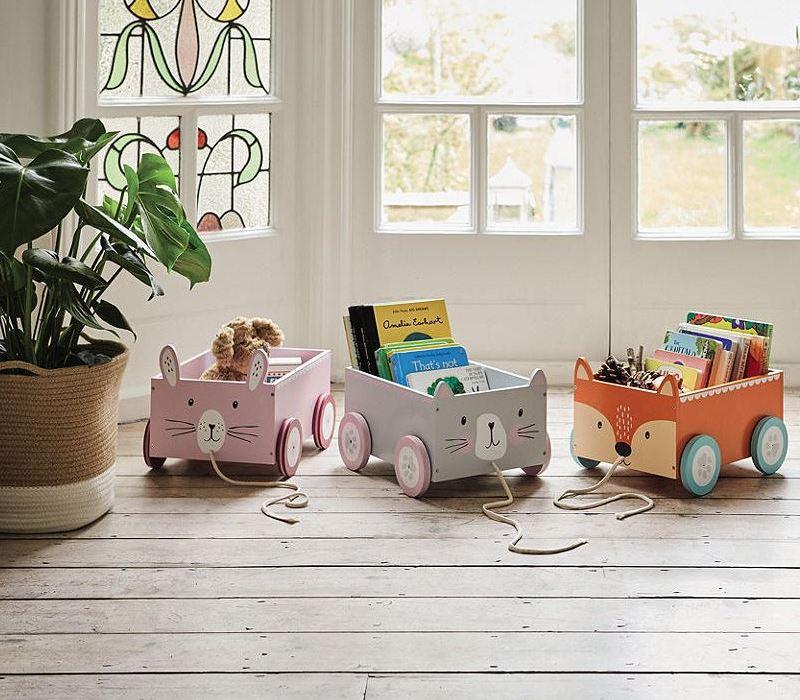 Wózki na zabawki John Lewis