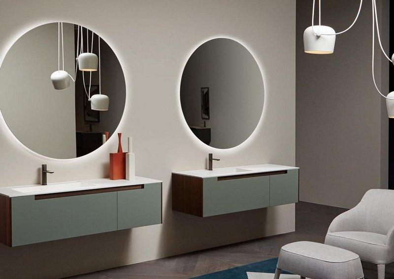 Eleganckie meble łazienkowe dla Niej i dla Niego; Antonio Lupi