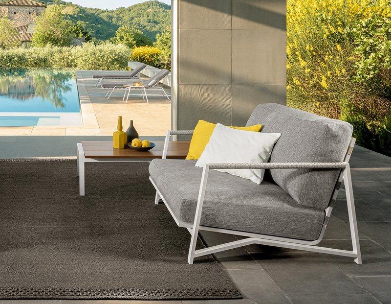 Luksusowe meble ogrodowe w stylu minimalistycznym; Talenti Outdoor Living