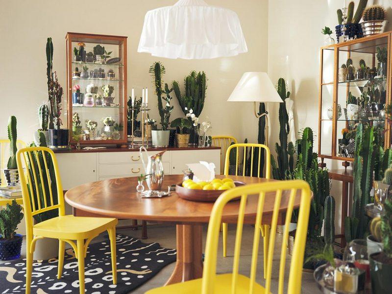 Pokój pełen roślin; Svenskt Tenn
