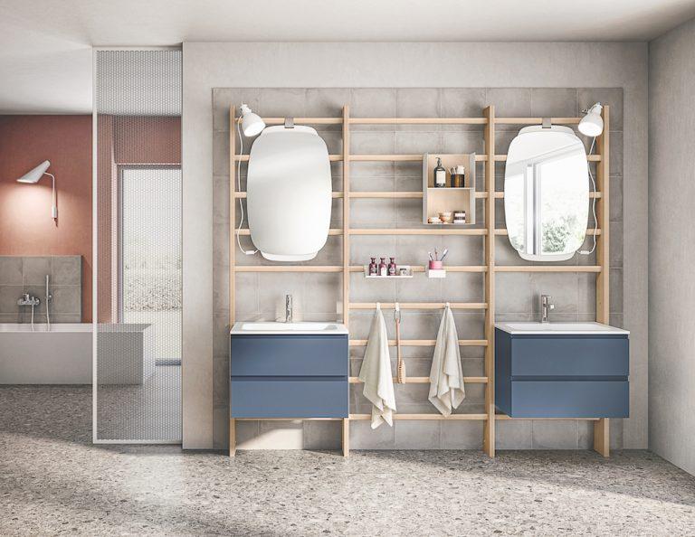 Nowoczesne trendy łazienkowe; Scavolini