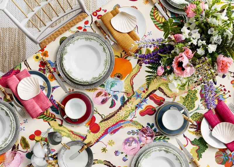 Letnia aranżacja stołu; Svenskt Tenn