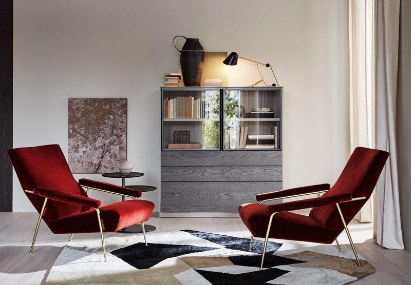 Nieregularny dywan do salonu Molteni&C
