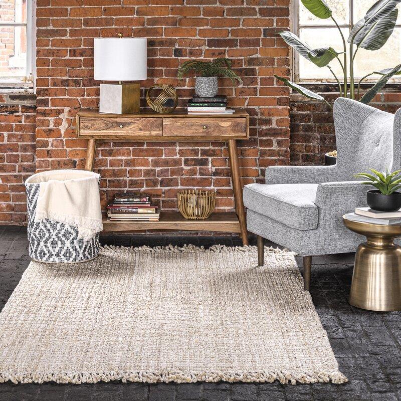 Mały kwadratowy dywan Allmodern