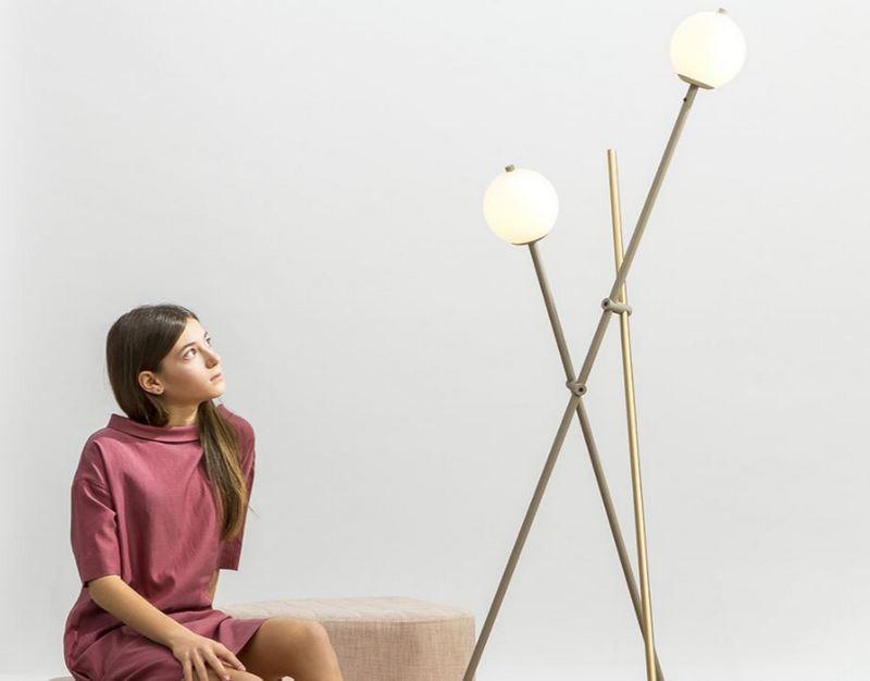 Nowoczesne lampy podłogowe Estiluz