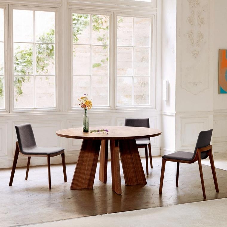 Designerska jadalnia w minimalistycznym stylu Conde House
