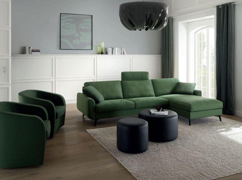 Zielono-czarna aranżacja Erpo