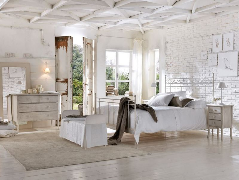 Rustykalna sypialnia Cantori