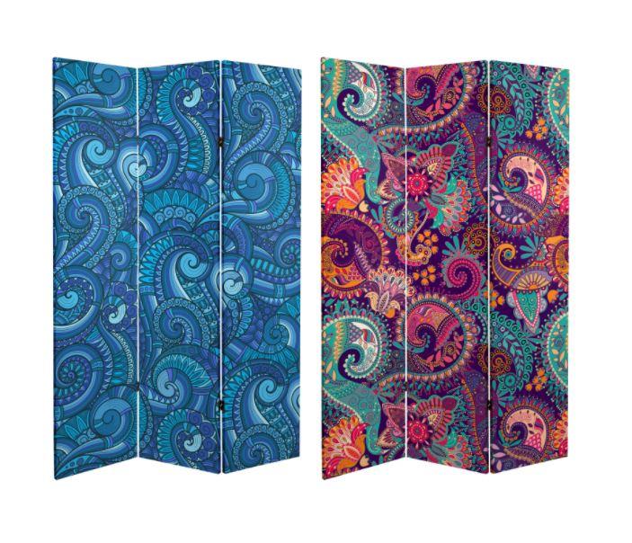 Kolorowe nowoczesne parawany Oriental Furniture