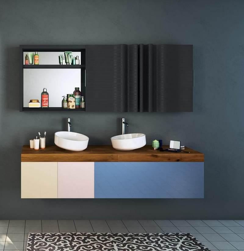 Trendy łazienkowe: modułowe meble Lago