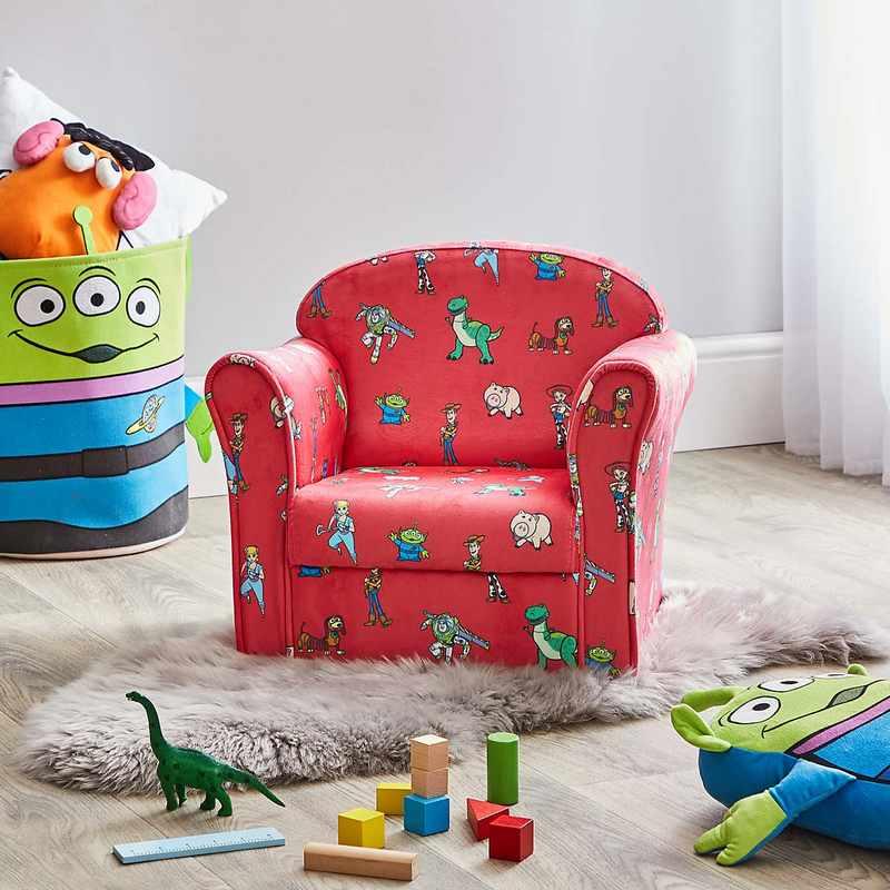 Kolorowe fotele do pokoju dziecięcego Dunelm