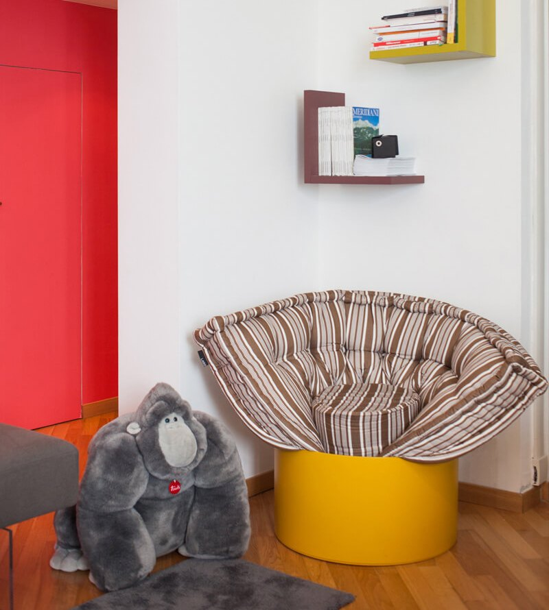 Rozkładany fotel do pokoju dziecięcego Lago