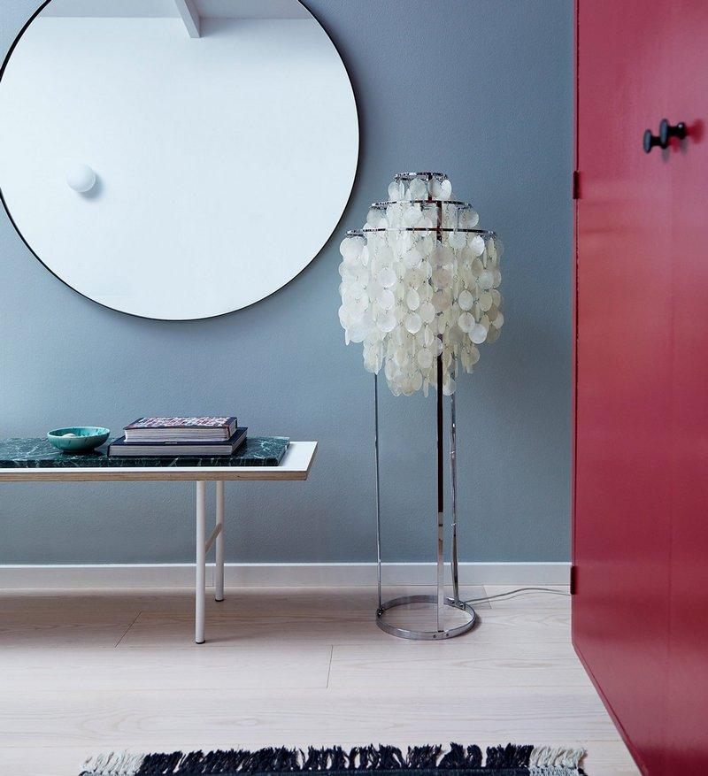 Elegancka lampa podłogowa Verpan
