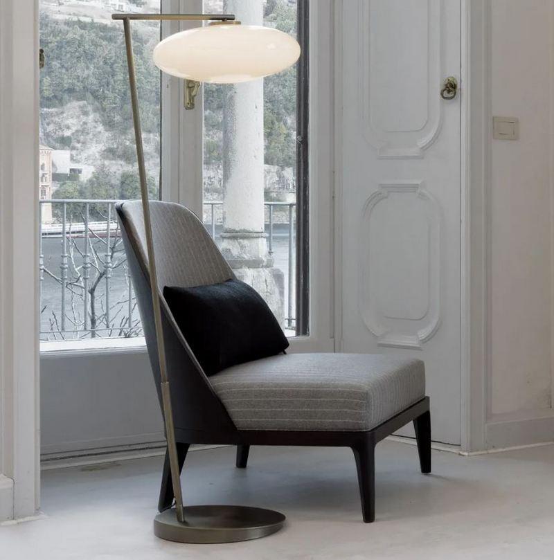Minimalistyczny fotel do czytania Juliettes Interiors