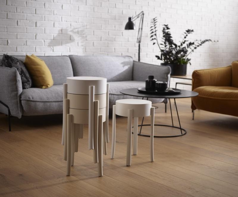 Designerskie stołki salonowe Swedese Mobler