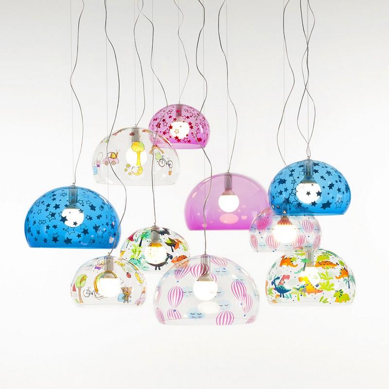 Kolorowe lampy dla dzieci Amara
