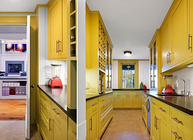 Żółta kuchnia; https://www.aharchitecture.com/