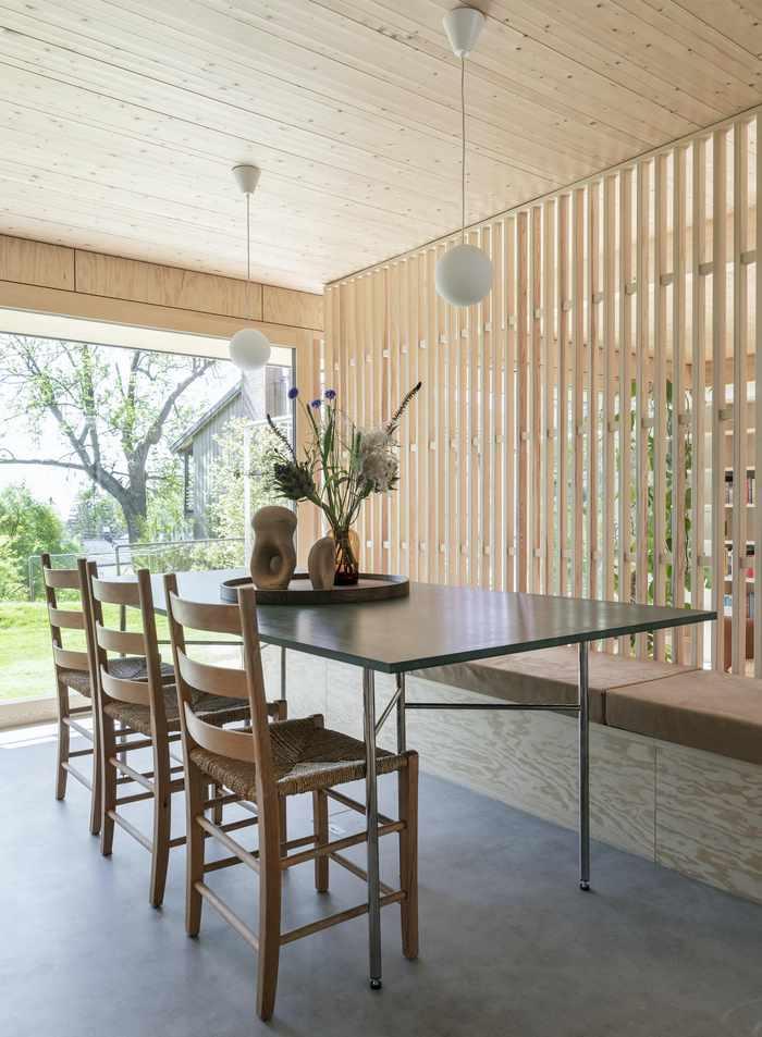 Drewniane wnętrza; Anne Bratveit