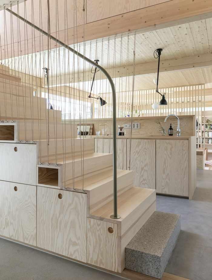 Konstrukcja drewniana Anne Bratveit