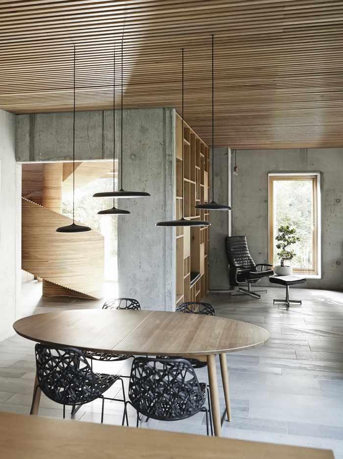 Drewniane wnętrza; Mia Mortensen